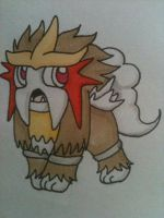 chibi entei by TheNymphia