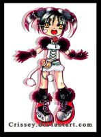 Xiaoyu-extracostume by Crissey by ChibiArt-Club