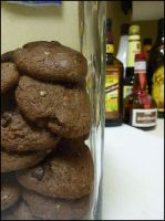Double Chocolate Chip cookies by raspil