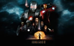Iron Man 2 Poster Wall Mix by rehsup
