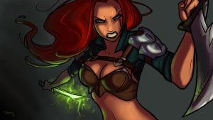 League of Legends 2013 Digital Art Contest by ClemCyza