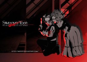 sweeney todd by Mefist