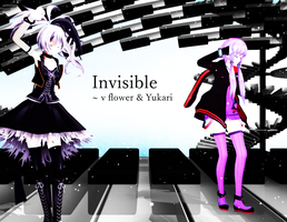 [MMD] Invisible - v flower and Yukari [VIDEO] by SapphireRose-chan