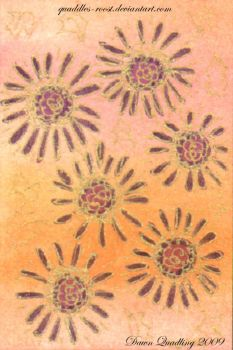 Golden Dreams 1  ATC 07 by Quaddles-Roost