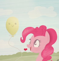 Pinkie Doodle by Balloons504