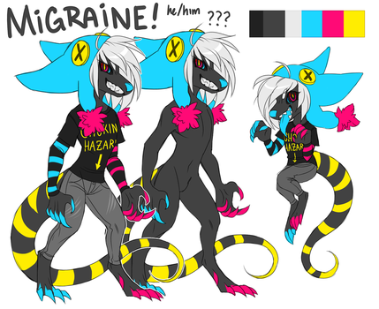 Migraine UPDATED DESIGN!!! by Cyanimate