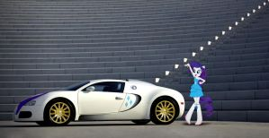 Rarity with Bugatti Veyron by NSDrift