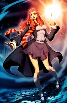 Harry Potter - Ginny Weasley by GENZOMAN