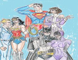 Clark Your Friends Have Issues by theaven