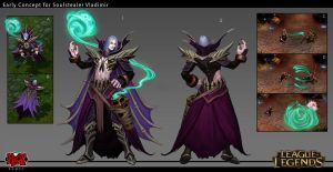Early Soulstealer Vladimir Skin Concept by Yideth