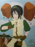 Sifu Toph Bei Fong (The Promise) by xMissPanda