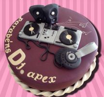 Dj set Cake by akr1
