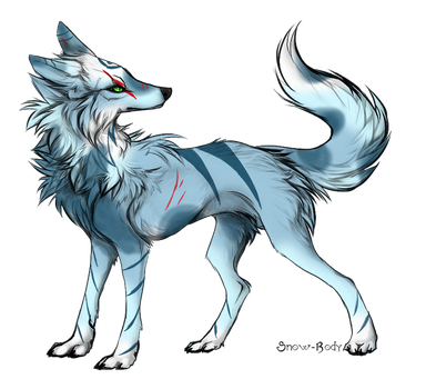 Wolf adoptable-(CLOSED) by Amabyllis