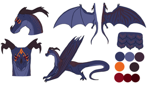 Moon Contest - Dragoness Design by ChibiCorporation