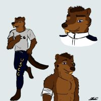 Sketch Page Shura Buck by Theosphir