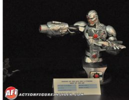 Toy Fair reveals: Cyborg bust by BLACKPLAGUE1348