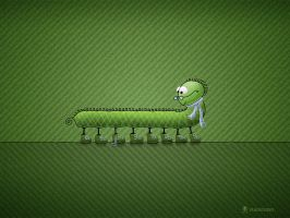 Little Problem Green by vladstudio