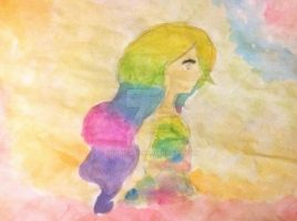 Playing with watercolours/ Testing watercolours... by Dhanica02
