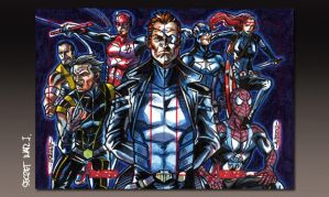 MARVEL 2012 Greatest Heroes Puzzle II by PencilInPain