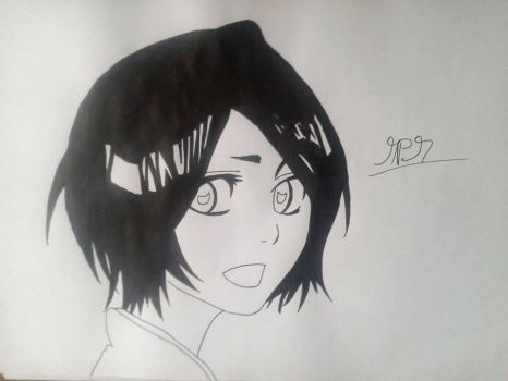 Bleach - Rukia Kuchiki by thehandle18