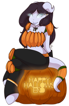 Happy Hallow's End by CheshireCatSmile37