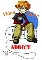 Video Game Addict 3 by MichellePow
