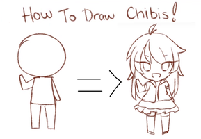 How To Draw Chibis Tutorial (VIDEO) by threewiishes