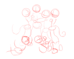 WIP - I'M SURROUNDED?!?!? by myinsanebestfriend