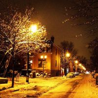 Snow in Montreal by yaslisari