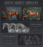 RWW Sheet Update! by feverpaint