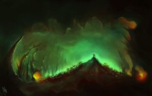Emerald cave by Szabrina
