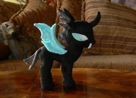 Changeling Plushie by navkaze