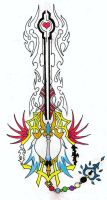 Forbidden Keyblade Ver. 3 by Leon259