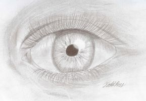 Eye Sketch by todd102030