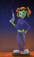 Alien Girl by artsox