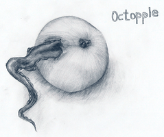 octopple by AnastaSilly