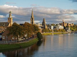 Early evening, Inverness by piglet365