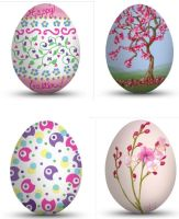 Easter Egg Draws by E by Ellee22