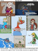 The Annoyances of Wind Waker by dragynstorm