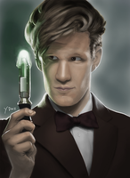 [2013] Matt Smith as the Doctor by YuriDnz