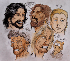 Faces! by 0laffson