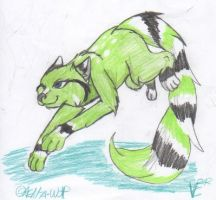 Lambrigini the Cat (Adopted from Tiaga123) by Aelita-wolf