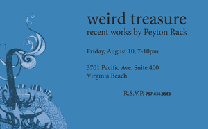 weird treasure show announcement by PeytonRack