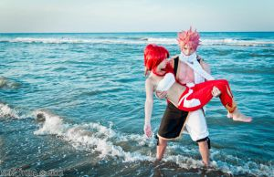I will protect you ~Natsu and Erza~ by NekoHibaPC