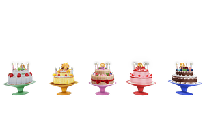 {MMD} PDF 2nd Birthday Cakes {DL} by HarukaSakurai