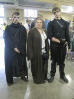 JEDI MOTHER AND SONS SITH by WhiteFox89