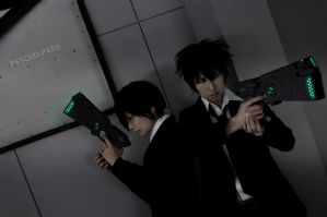 PSYCHO-PASS 1 by fullmetalflower