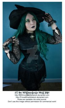 Halloween Gothic Witch Stock 006 by MADmoiselleMeliStock