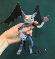 Electric imp- in hand by FoolsGrin
