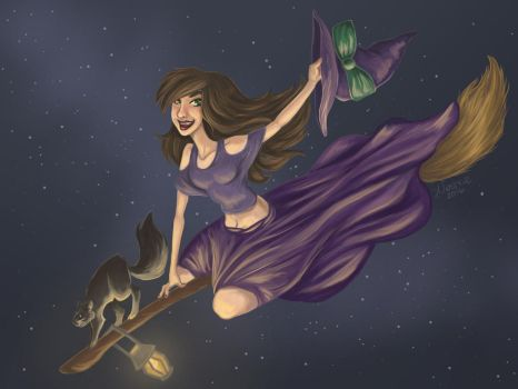 Witchy Woman by Neshrie